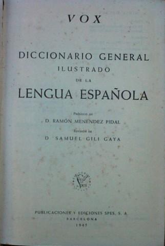 Diccionario General Ilustrado de la Lengua Española